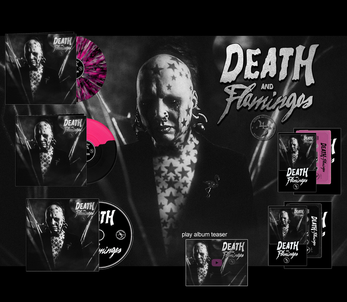 Death_Flamingos_editions